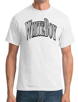 Whiteboy-İrlandalı Komplo-Mens T-Shirt