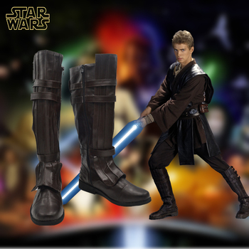 Anime ayakkabı flim star wars anakin skywalker cosplay çizmeler