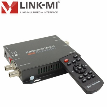 LINK-MI LM-CV180 HD 200 m/3G SDI HDMI/VGA/CVBS Audio İşlevli Video Converter Up @ 60Hz 3G-SDI 120 m Extender